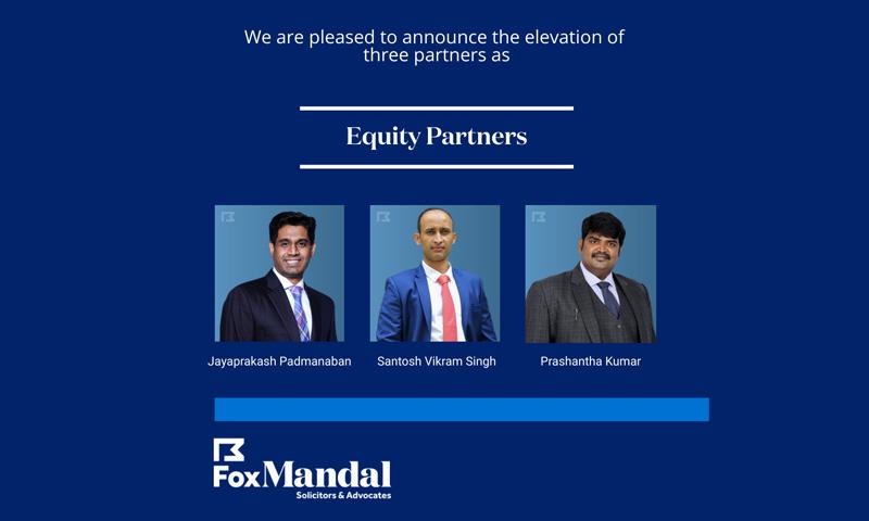 Fox Mandal Elevates Three Partners To Equity Partnership