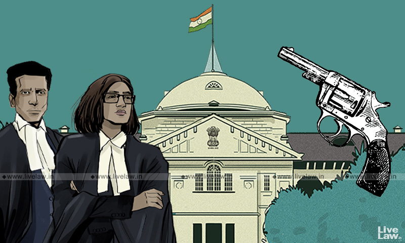 Allahabad High Court, advocate Firearm licence, noble profession, Justice Saurabh Shyam Shamshery, Arms Act, threat, safety,