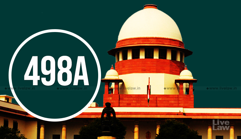 [Section 498A IPC] SC Quashes Matrimonial Cruelty Charges Against Husband Based On Compromise