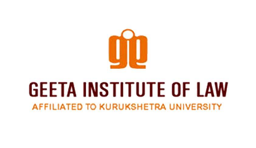 Admission Notification: Geeta Institute of Law; BALLB/BBALLB/LLB/LLM