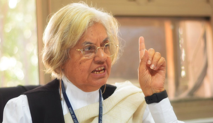 Whenever The Question Of Equal Rights For Women Has Come Forward,The Approach Of The Courts Has Been Disappointing:Indira Jaising [NLSU Speech]