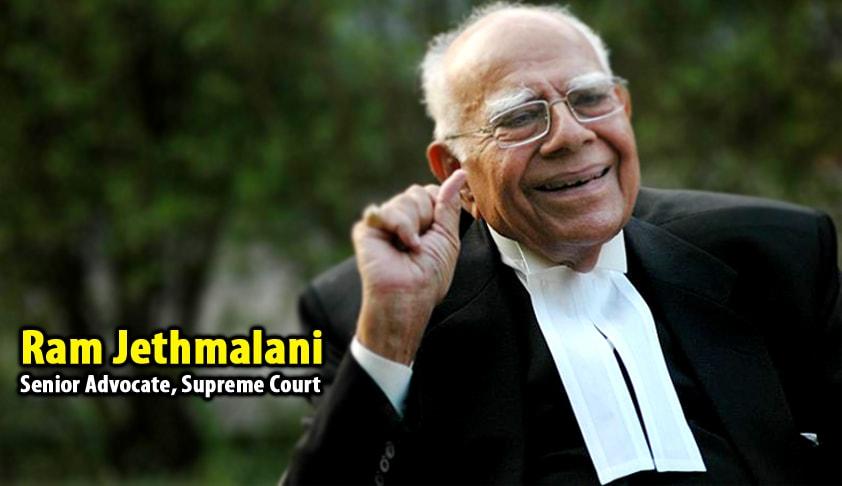 Doyen Of Criminal Law Ram Jethmalani Passes Away