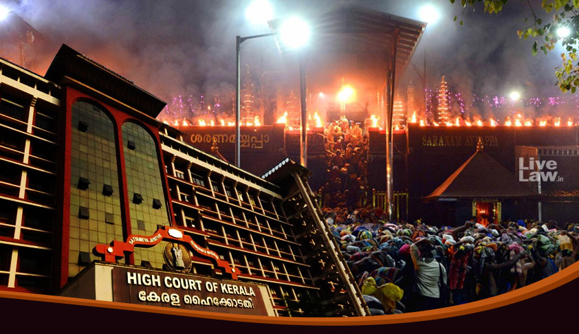 #Sabarimala: A Persons Right As A Devotee Cannot Be Stalled Citing His Criminal Background: Kerala HC