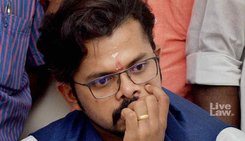 Life Ban Imposed By BCCI Unfair: Sreesanth Tells SC
