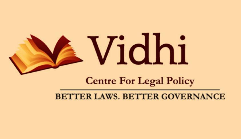 Internship At Vidhi Centre For Legal Policy, Karnataka