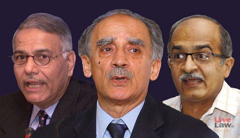 "Rafale Judgement Contains ""Patent Factual & Legal Errors"": Sinha, Shourie, Bhushan File Review Petition In SC [Read Petition]"